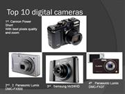 Top 10 digital cameras
