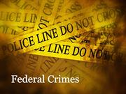 New Jersey Federal Crimes Attorney