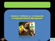 Chemical Fertilizers as a Component of INM