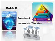 plotnik mod 19 freudian and humanistic t...