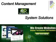 Content Management System Solutions