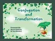 Transformation and Conjugation