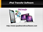 Transfer & Backup iPad Files Easily