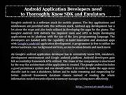 Android Apps Development In UK