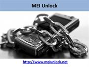 MEI Unlock - Use Any Network on your Smartphone without Restriction