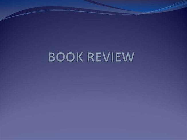 book review powerpoint presentation