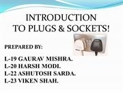 plugs and socket ppt