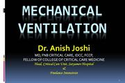 mechanical ventilation anish