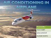 airconditioning in Plane