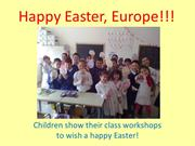 Class decorations and Easter Cards
