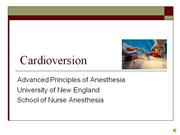 Cardioversion lecture
