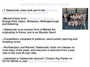 PR_Northants Taekwondo Is A Winner