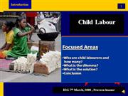 child labour abuse `voice presentation`