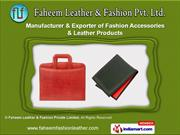 Faheem Leather and Fashion Private Limited, Tamil Nadu india