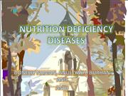Nutrition Deficiency Diseases