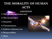 Morality of the Human Act 2012