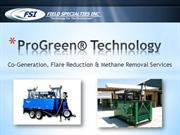 Methane Removal Flare Reduction Cogeneration-