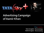 Advertising Campaign Tata Sky