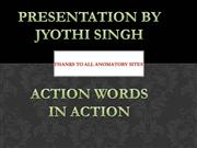 action-words-through-animation