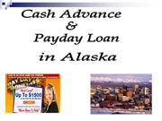 Cash Advance & Payday Loan in Alaska