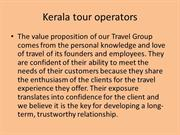 Kerala tour operators