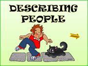 PPT DESCRIBING PEOPLE diapos con pase a 4 segundos