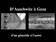 From Auschwitz to Gaza