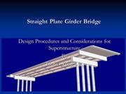 Straight Plate Girder Bridge