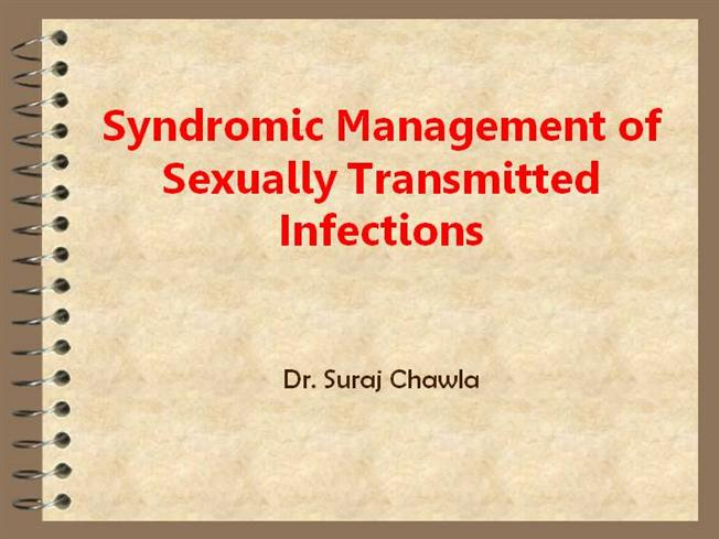 Syndromic Management Of Sexually Transmitted Infections
