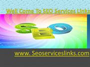 SEO Services Links