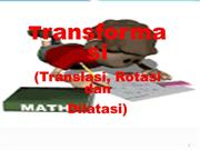transformasi(translasi-rotasi-dilatasi)