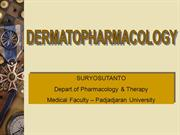 Dermatological Pharmacology