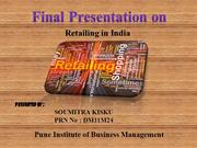 Retail industry of India