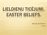 Easter beliefs - Latvia