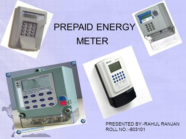 Smart Prepaid Electric Meters