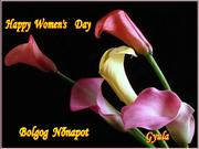HAPPY WOMEN'S DAY BOLDOG NŐNAPOT