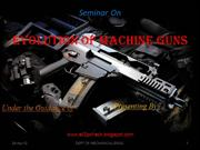 machine guns