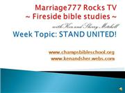 Marriage777 Rocks TV-STAND UNITED!