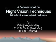Night Vision Techniqes