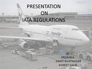 IATA REGULATION