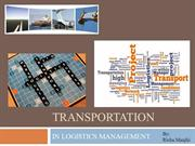Transportation in Logistics Management