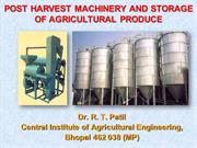 Processing & Storage of Grains