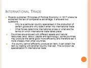 International Trade-ppt