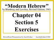 MH22-5-Exercises
