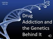 drug addiction and the genetics behind it