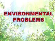 ENVIRONMENTAL PROBLEMS