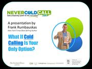 Does Your Sales Manager Make You Cold Call?