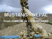 MUSTANG NEPAL (Jomsom_Lo Manthang)