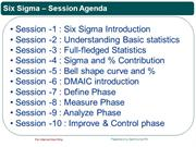 SIX SIGMA[Session1]