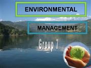 ENVIRONMENTAL MANAGEMENT-97-03